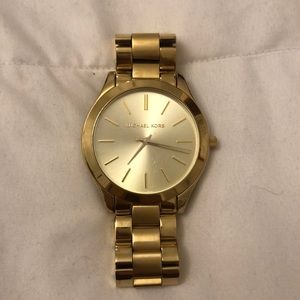 Gold authentic Michael Kors watch
